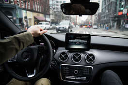 SeattlePI.com writer Daniel DeMay takes car2go's new ride share Mercedes-Benz CLA for a spin on Thursday, Jan. 26, 2017.