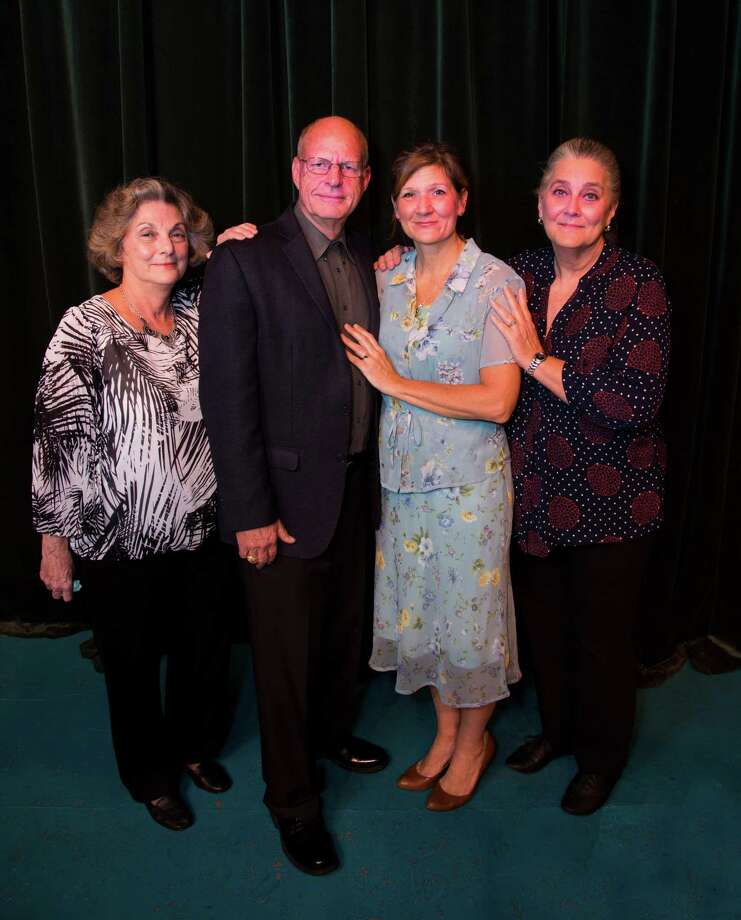 "Pictured from left are the cast members in the Players Theatre Company's ""The Cemetery Club,"" Terry Lynn Hale, Mark Wilson, Cindy Siple and Lisa Schofield. The show opened Jan. 27 and continues through Feb. 12 at the Owen Theatre in downtown Conroe."