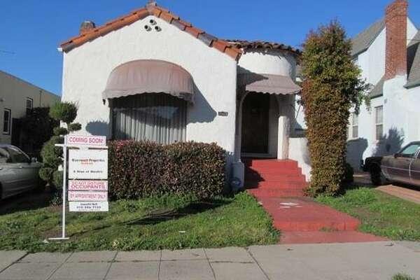 Home for sale in Oakland's Bushrod Neighborhood