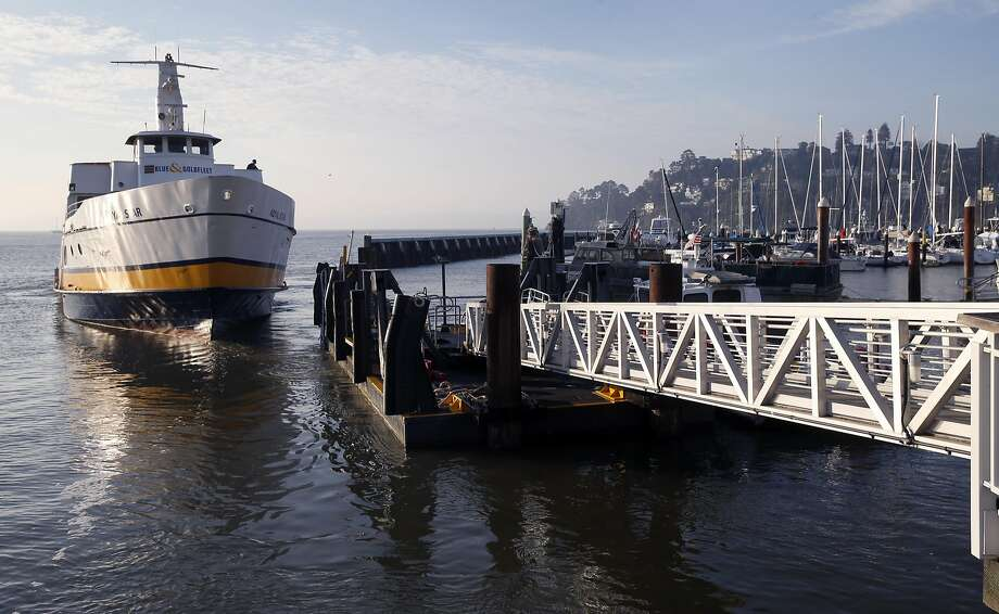 The Highway and Transportation District Board of Directors voted to take over the weekday ferry service from Blue & Gold Fleet starting March 6. Photo: Paul Chinn, The Chronicle