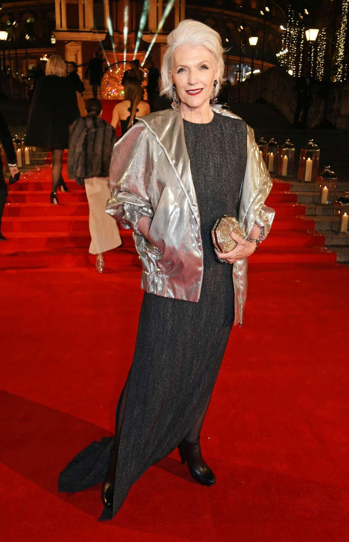 December 2016: The Fashion Awards 2016 at Royal Albert Hall in London.