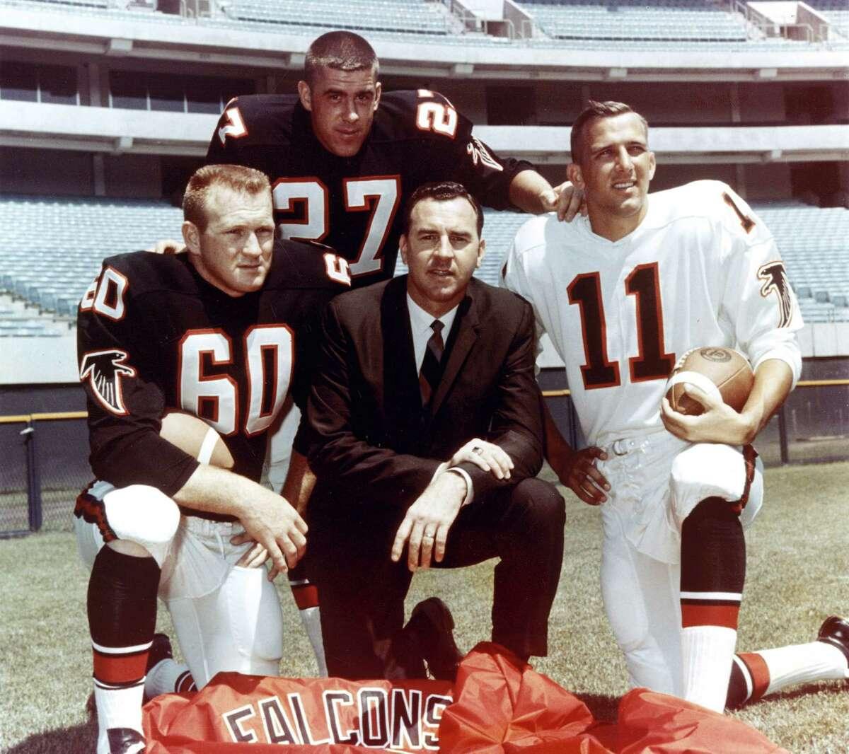 Falcons' inaugural season: 1966 (NFL) Falcons' all-time record:341-437-6 (9-12 playoffs) Falcons' Super Bowl record:0-1