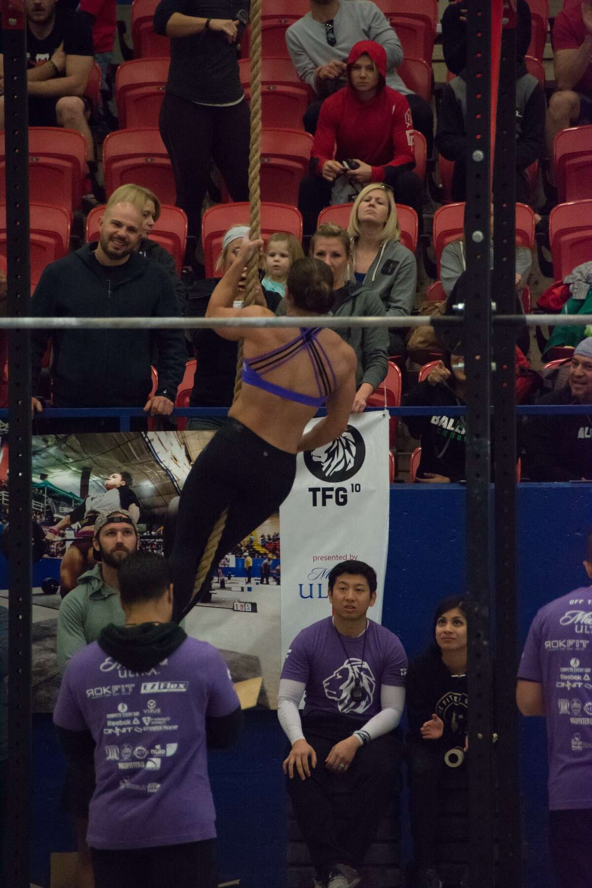 Jessica Aelvoet, a San Antonio native, toughed a gauntlet of workouts during the The Fittest Games in Austin last weekend to become the 2017 Pro Women's Champion.