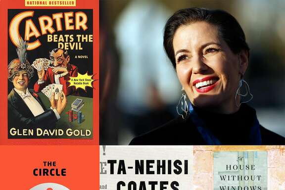 Oakland Mayor Libby Schaaf and her choice of favorite books.