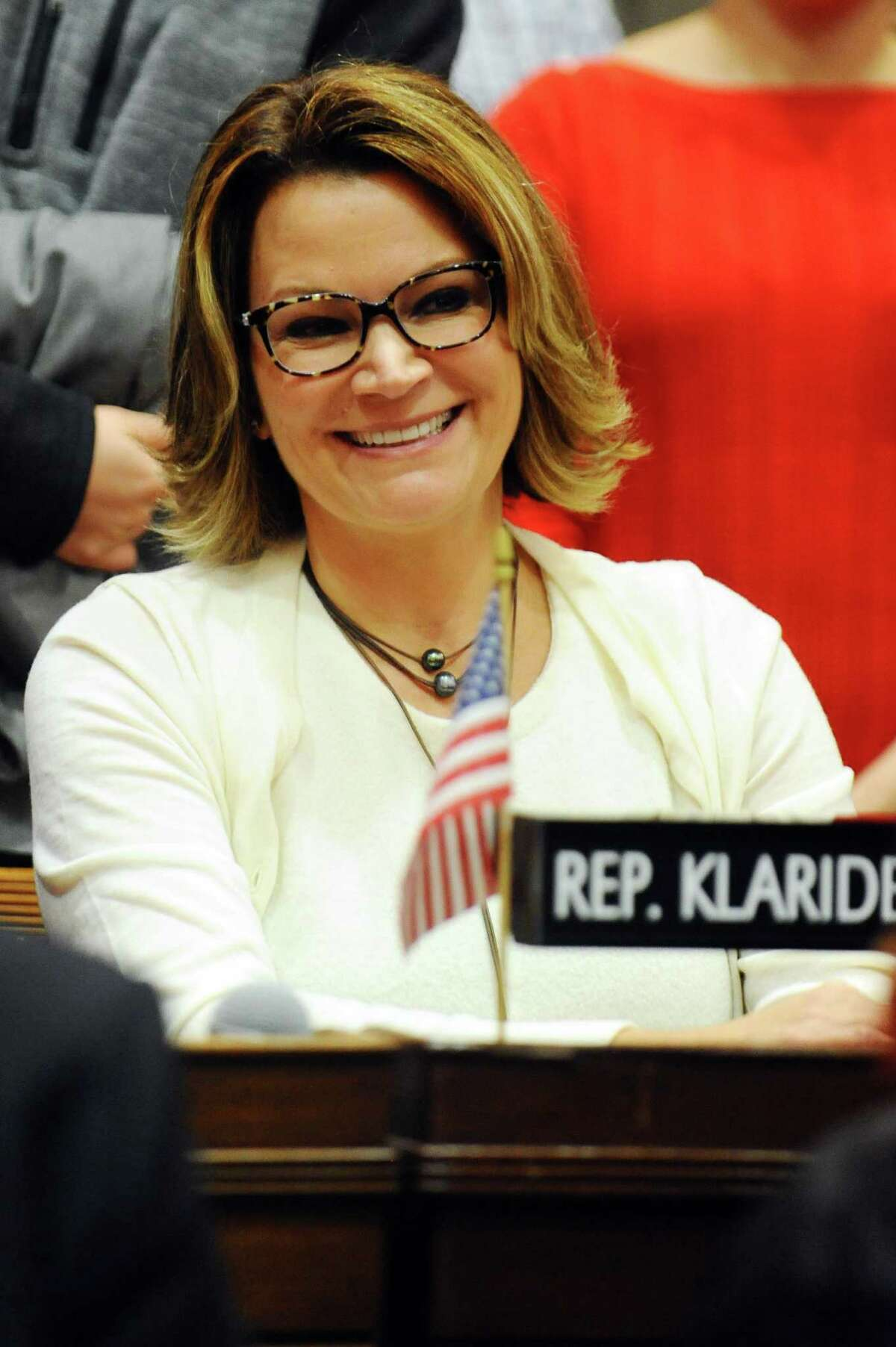 State Representative Nicole Klarides- Ditria (R, Seymour)