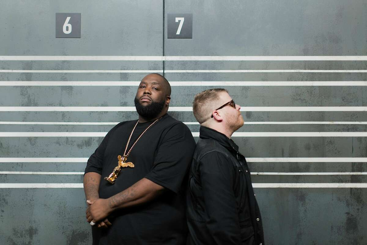 Run the Jewels are scheduled to perform two shows in the Bay Area this week.