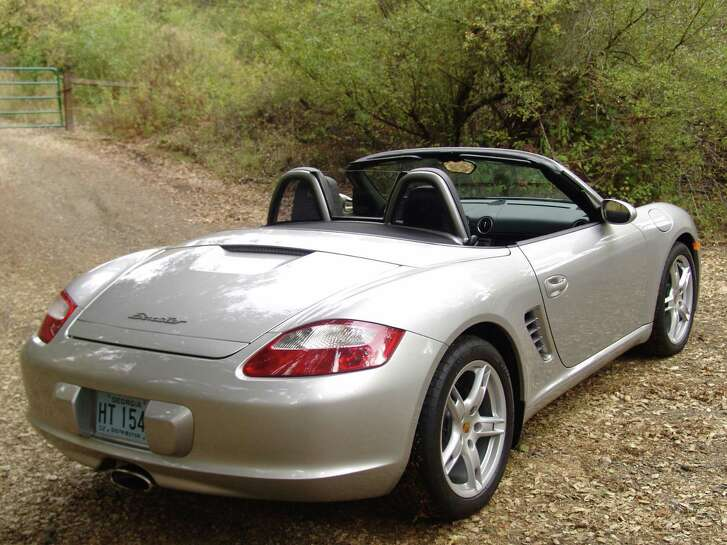 "Retiring columnist Scott Burns has plans to be motoring about in a Porsche Boxster like this, a personal ""retirement vehicle."""