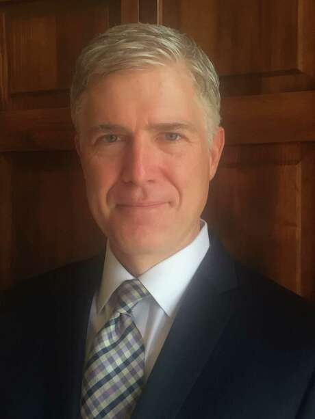 Judge Neil M. Gorsuch. (10th U.S. Circuit Court of Appeals via AP) Photo: HOGP / 10th U.S. Circuit Court of Appeals