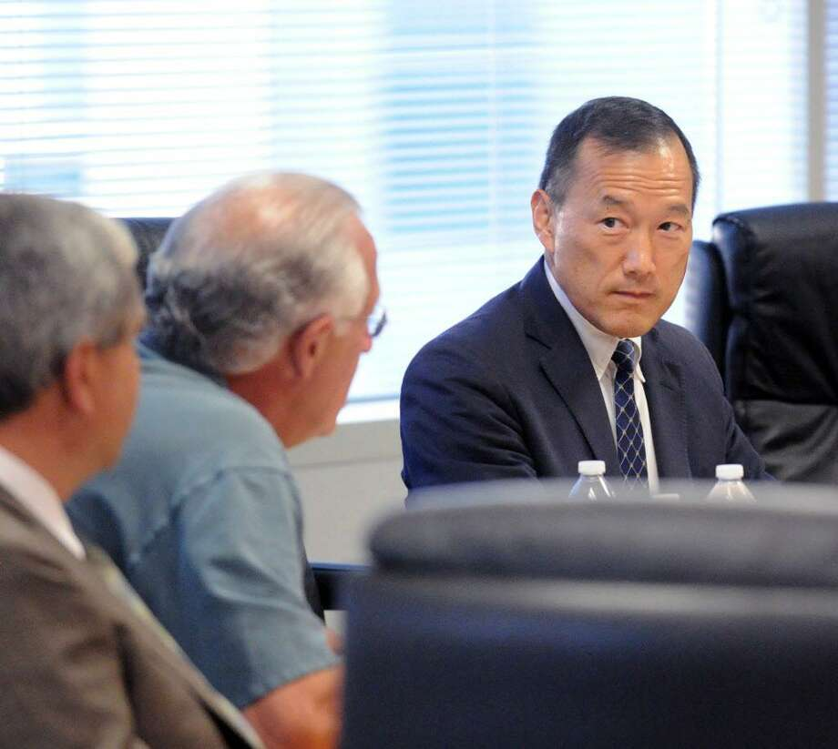 FILE — Superintendent of Schools Earl Kim at the Stamford Government Center on July 26, 2016. Photo: Bob Luckey Jr. / Hearst Connecticut Media / Greenwich Time