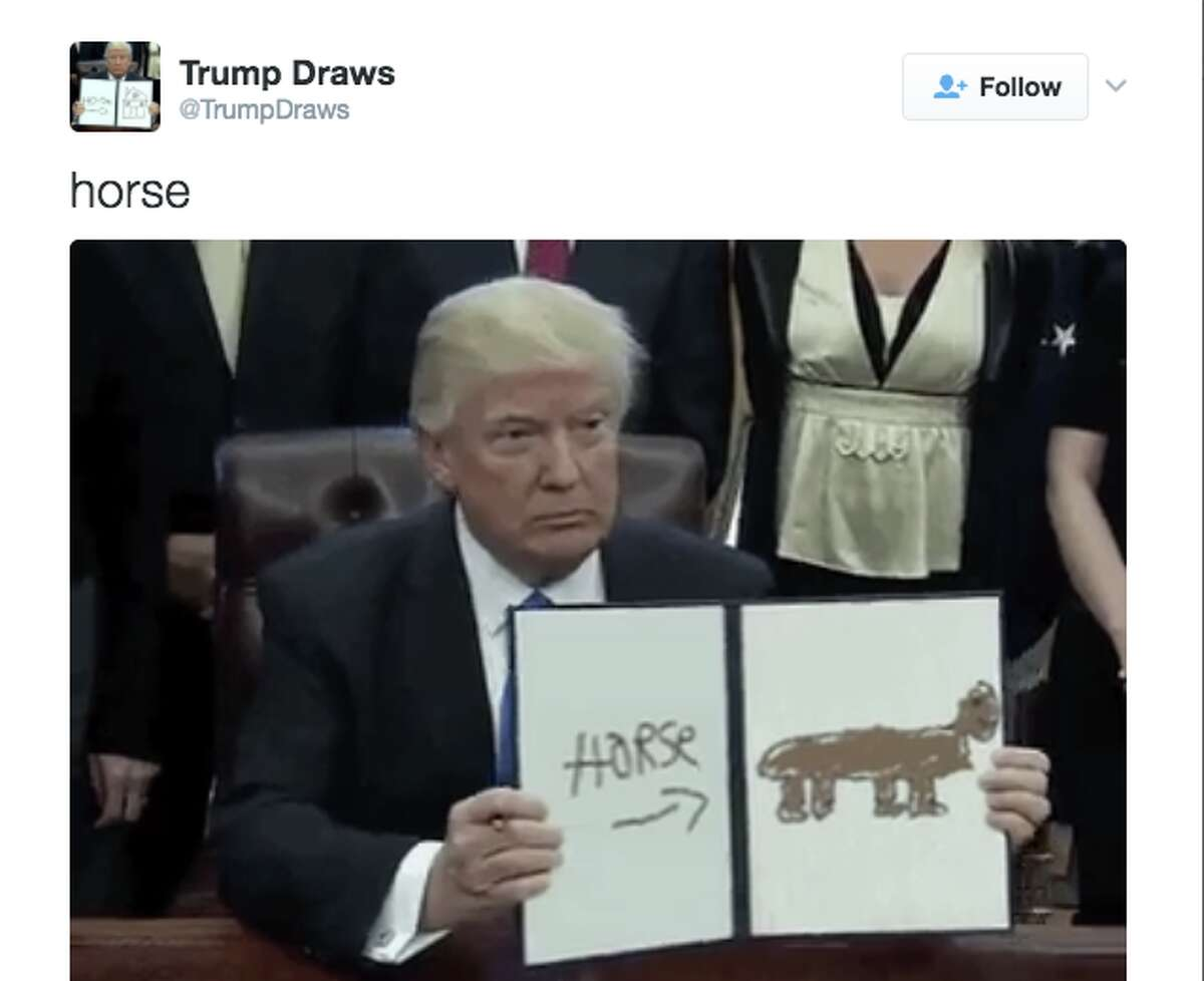 Twitter is mocking Trump's executive orders with a brand-new meme.