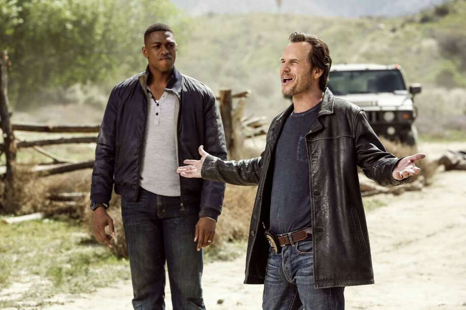 "Justin Cornwell, left, co-stars with Texas-born actor Bill Paxton in ""Training Day,"" a CBS crime thriller. Photo: Courtesy CBS, STR / ©2016 CBS Broadcasting, Inc. All Rights Reserved"
