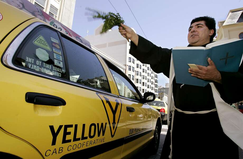 Blessing of the taxis in 2006 Photo: PAUL SAKUMA, AP