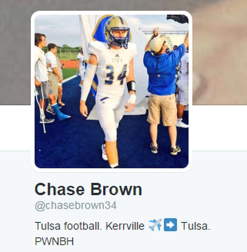 Chase Brown: Kerrville Tivy, LB (Tulsa, early enrollee)