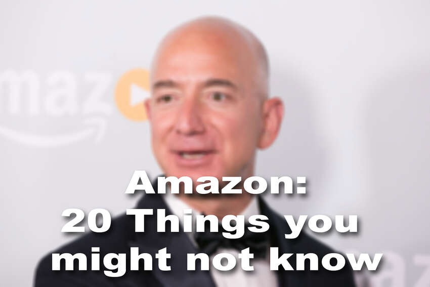 20 things you might not know about the Seattle-based e-commerce giant.
