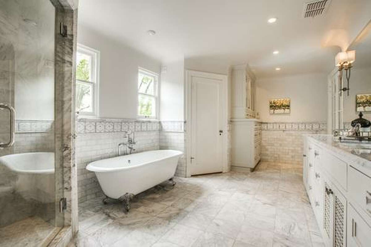 SCHONES: Whitney Schones created a light and airy space in this Elsmere Place bathroom.