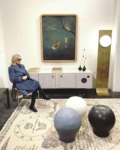 BAXTER: SA interior designer Debbie Baxter visited a design showroom in Manhattan over Thanksgiving. Photo: Photo Courtesy Minta Maria