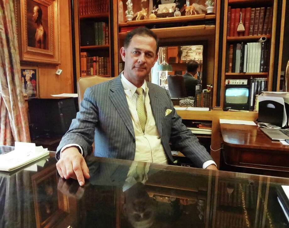 """FORSTER: Charles Forster is the CEO of the venerable SA interior design firm Orville Carr Associates. """"I hate trends,"""" he says. Photo: Steve Bennett / San Antonio Express-News"""