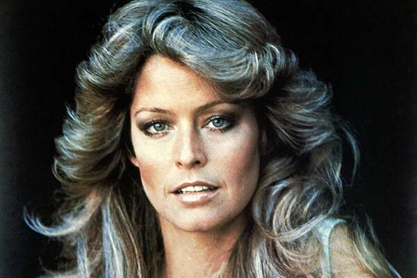 Poster of actress Farrah Fawcett. (Photo by Henry Groskinsky/The LIFE Images Collection/Getty Images)