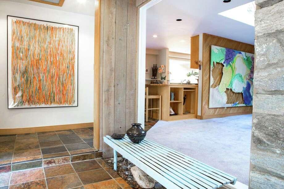 Frank Lloyd Wright Influences on the market: a frank lloyd wright influenced home in westport