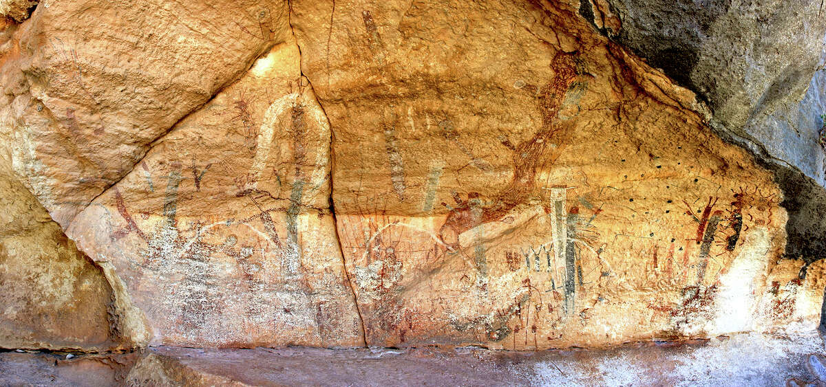 Through years of research on the painted limestone walls of the Lower Pecos Canyonlands near the Texas-Mexico border, archaeologist Carolyn Boyd has discovered hidden meaning in the colorful pictographs. Research on the remote drawings continues through the work of Shumla Archaeological Research & Education Center, which Boyd founded in Comstock, Texas.
