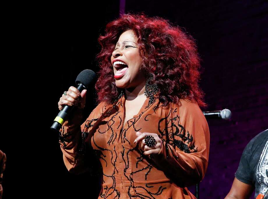 """FILE - In this Oct. 24, 2014, file photo, Chaka Khan performs at the 13th annual """"A Great Night in Harlem"""" gala concert in New York. Chaka Khan and her sister have both entered a drug rehabilitation program to battle their addiction to prescription drugs. In a statement released, Sunday, July 10, 2016, Khan said she has been battling with an addiction to he same medication that led to Prince's death last April. (Photo by Mark Von Holden/Invision/AP, File) ORG XMIT: NYET708 Photo: Mark Von Holden / Invision"""