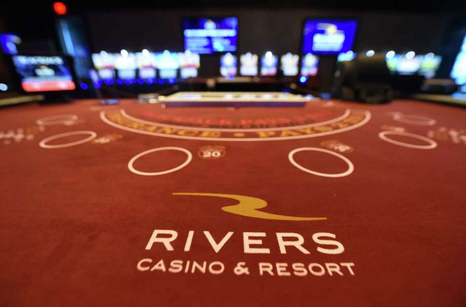 Blackjack table at Rivers Casino & Resort on Wednesday, Feb. 1, 2017, in Schenectady, N.Y.  (Will Waldron/Times Union) Photo: Will Waldron / 20039576A