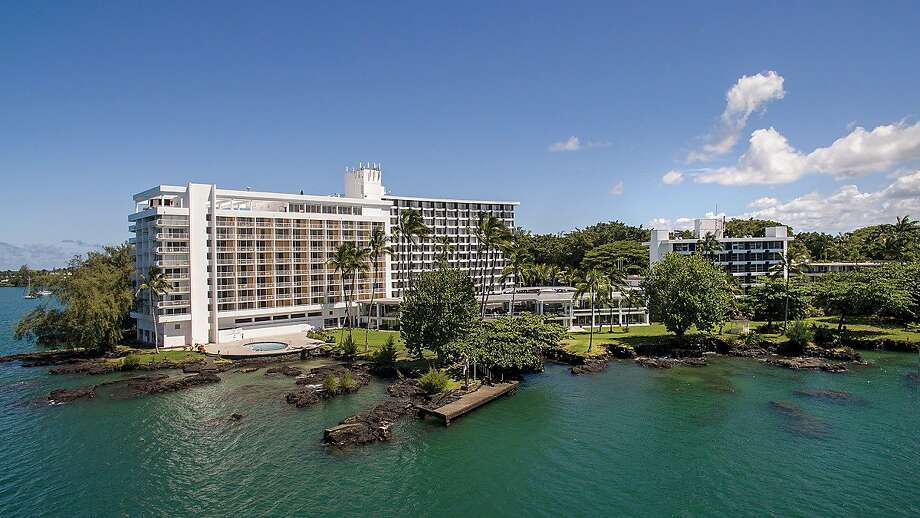 The Grand Naniloa Hotel Hilo, which includes a 9-hole golf course on its 70-acre site on Hilo Bay, has emerged from a $30 million renovation as a DoubleTree by Hilton with a focus on hula. Photo: Grand Naniloa Hotel Hilo