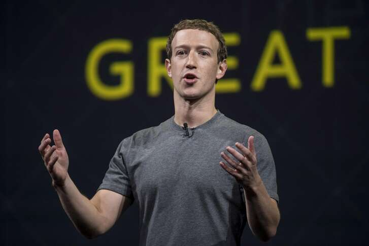 Mark Zuckerberg, chief executive officer and founder of Facebook Inc., speaks during the Oculus Connect 3 event in San Jose, California, U.S., on Thursday, Oct. 6, 2016. Facebook Inc. is working on a new virtual reality product that is more advanced than its Samsung Gear VR, but doesn't require connection to a personal computer, like the Oculus Rift does. Photographer: David Paul Morris/Bloomberg