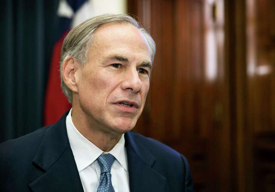 Texas Gov. Greg Abbott talks about the upcoming legislative session with reporters at the Capitol in Austin, Texas, on Tuesday Dec. 13, 2016. ( Jay Janner/Austin American-Statesman via AP) Photo: Jay Janner, MBO / Austin American-Statesman