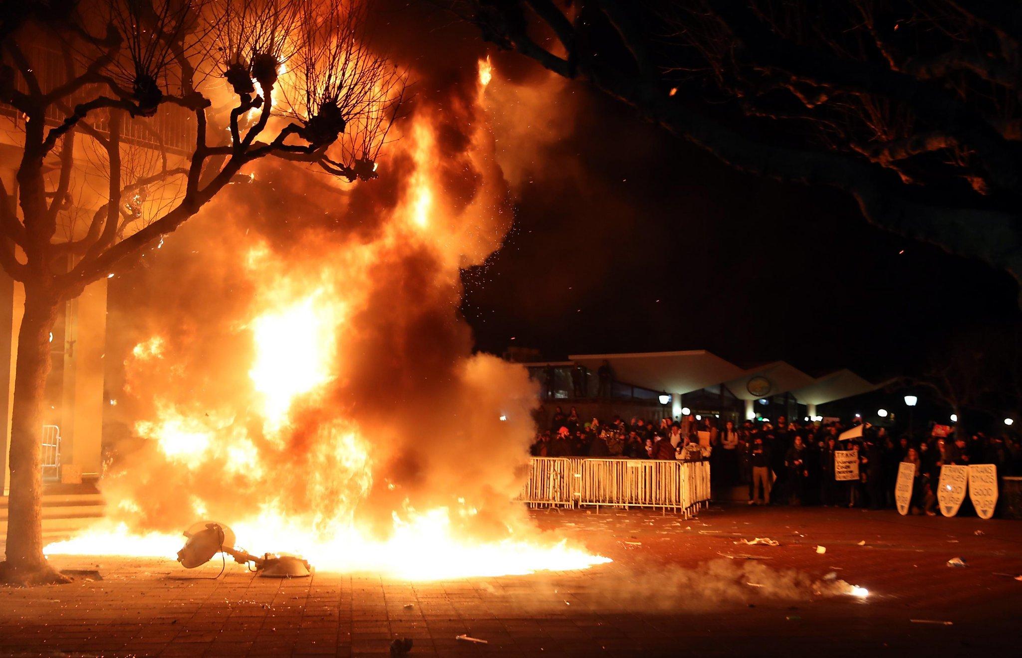 uc berkeley cancels right wing provocateur s talk amid violent