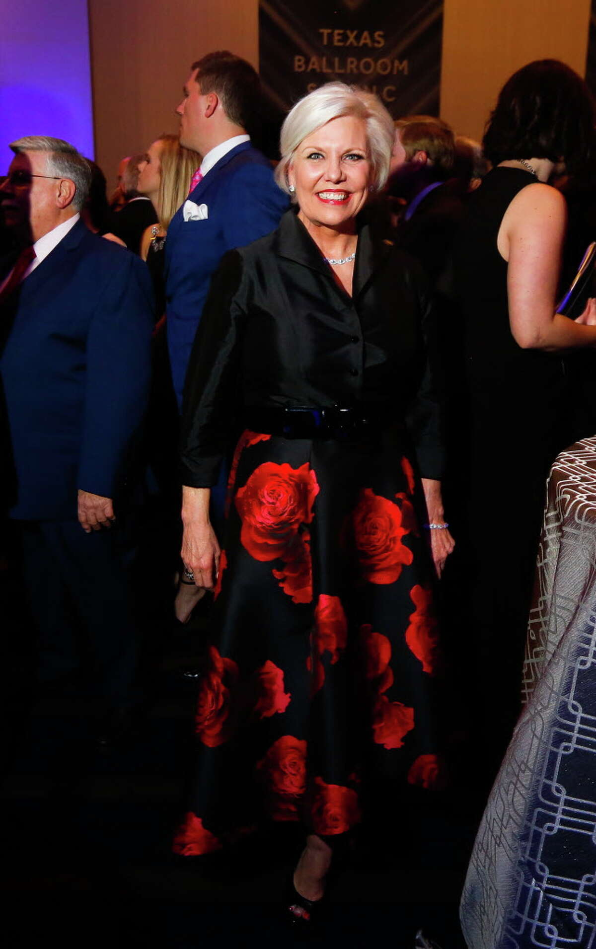 Sallie Sargent at the Super Bowl Host Committee's Luminaries of the Game gala honoring Bob and Janice McNair on Wednesday, Feb. 1, 2017. (Annie Mulligan / Freelance)