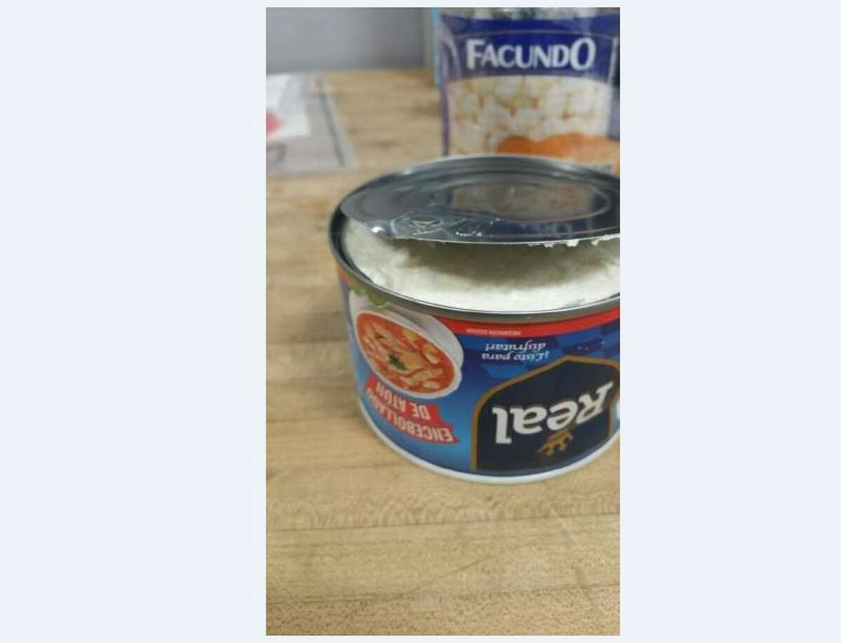 Tuna can cocaine seizure Cocaine was found in cans of tuna and corn during a failed smuggling attempt in late January.