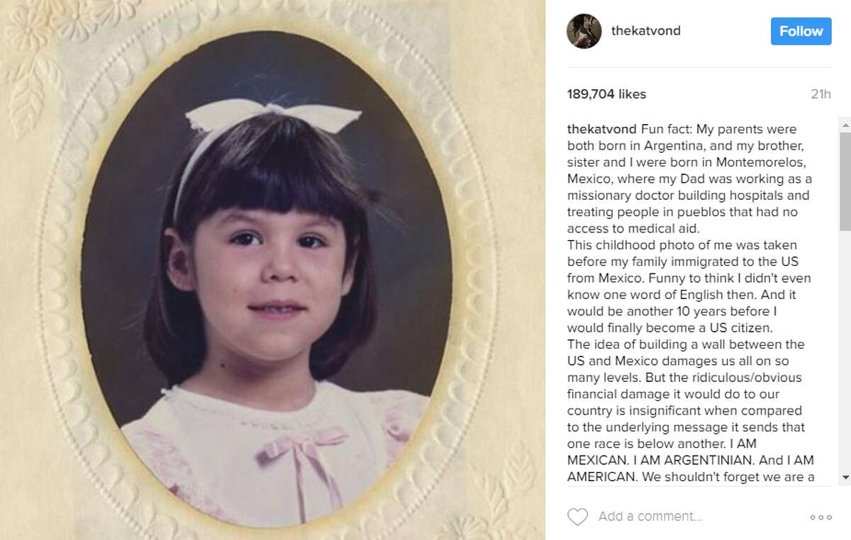 The 34-year-old tattoo artist shared a childhood photo of herself on Instagram which was taken in Mexico, before she knew