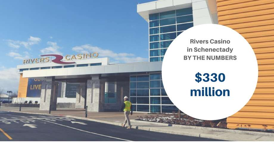 RIVERS CASINO BY THE NUMBERS:Click through the slideshow to learn about the casino. Rush Street Gaming invested $330 million to build Rivers Casino and Resort in Schenectady. The company generates more than $1 billion annually in gaming revenues.