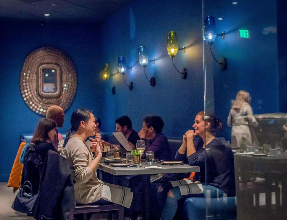 People have dinner at August 1 Five in San Francisco, Calif. on February 1st, 2017. Photo: John Storey, Special To The Chronicle