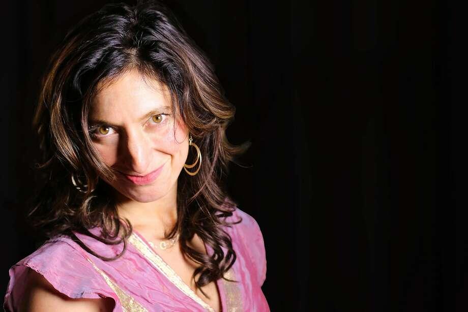 "Alicia Dattner seeks an Indian guru in ""Eat, Pray, Laugh!"" Photo: Robert Strong, The Marsh"
