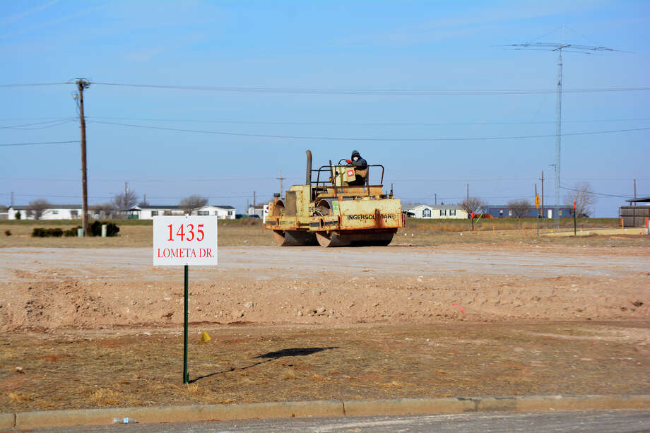 A mechanical packer on Thursday was preparing the construction pad for the first phase of the BeeHive Homes assisted living complex, located south of Walmart Supercenter. The $1 million project was included in the city's December construction permit. The January report was issued Wednesday, showing almost $125,000 in activity.