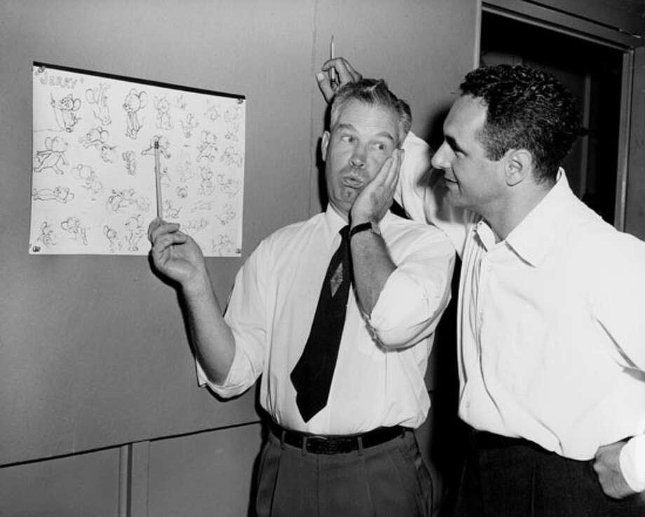 William Hanna and Joseph Barbera 1950's