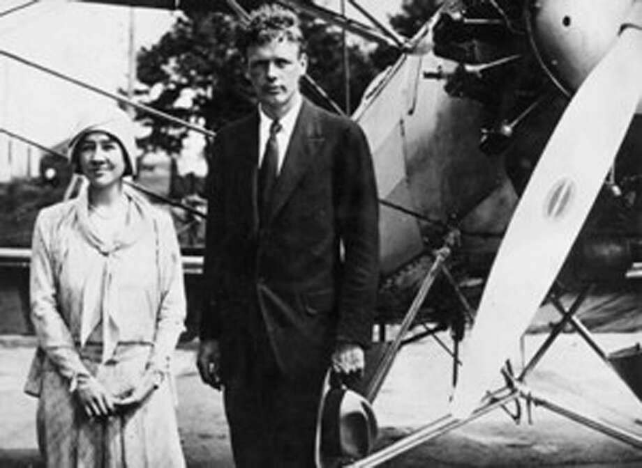 Charles and Anne Lindbergh seen here in this undated photo. Photo: Darien News / Contributed Photo / Darien News