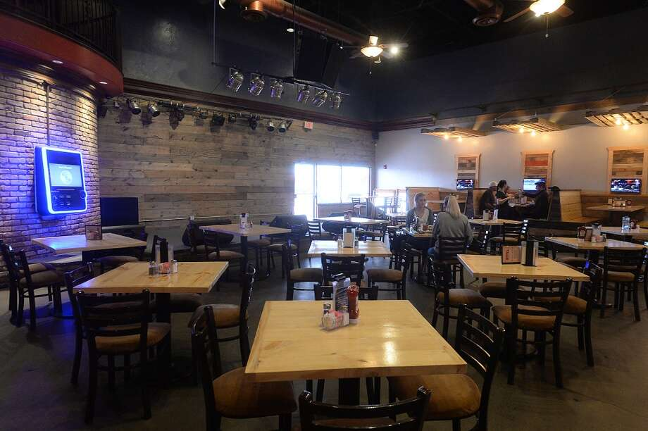 New tabletops and seating reflect the contemporary decor that is among the many changes taking place throughout Madison's on Dowlen.  Photo taken Thursday, January 26, 2017 Kim Brent/The Enterprise Photo: Kim Brent