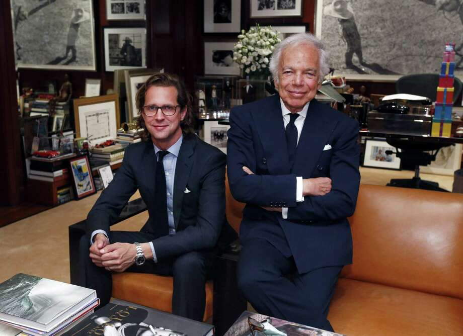 Stefan CEO of Ralph Lauren Corp., will be stepping down from the post in May, less than two years after taking over the role. Founder Ralph Lauren says he and Larson had different views on how to run parts of the business. Photo: Associated Press /File Photo / FR103966 AP