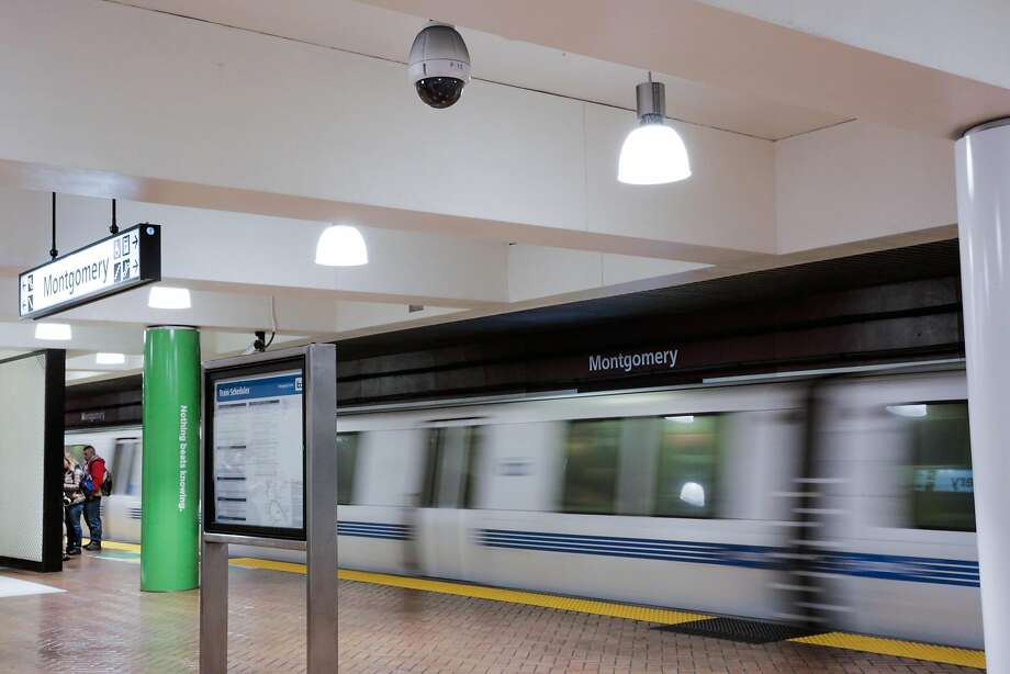 Montgomery BART station. Photo: Gabrielle Lurie, The Chronicle