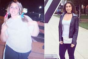 Savannah Ortiz, a 23-year-old Austin native who previously weighed in at 243 pounds, now weighs 158 pounds after embarking on a weight-loss journey spurred by her mother's illness.