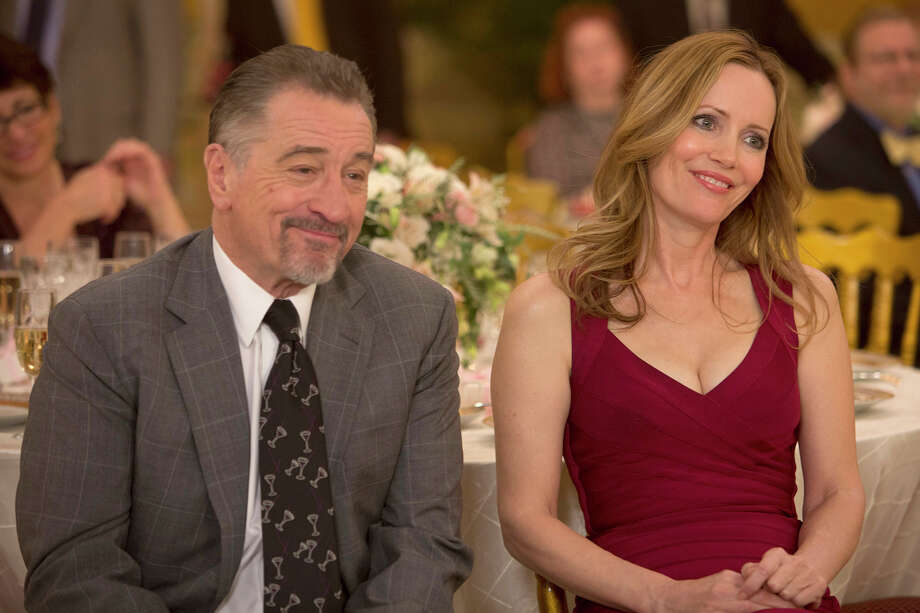 """Robert De Niro as Jackie Burke and Leslie Mann as Harmony Schiltz in """"The Comedian."""" MUST CREDIT: Alison Cohen Rosa, Sony Pictures Classics / Alison Cohen Rosa"""