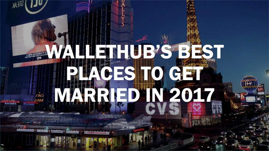 Wallethub 39 s best places to get married in 2017 sfgate for Popular places to get married
