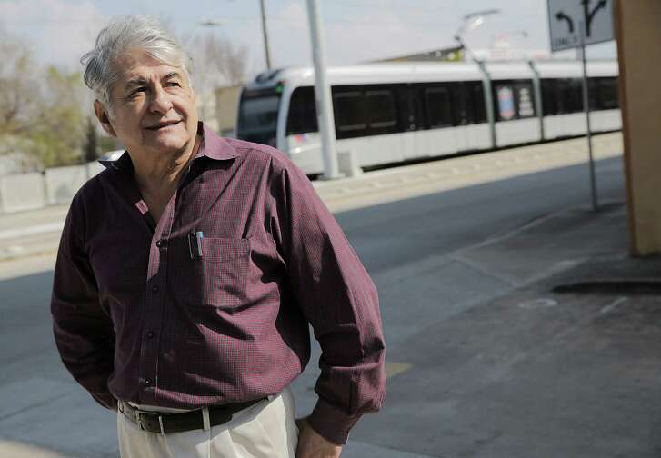 Julio del Carpio talks about the changes he hopes for his businesses including Plaza Marbella since the light rail finished at Harrisburg and Cesar Chavez on Feb. 2.