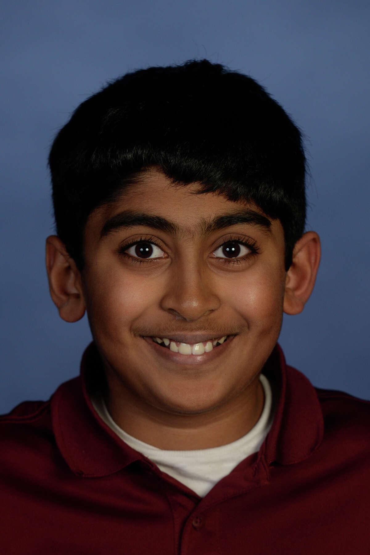 Abell Junior High: Srikar Chamarthi, 12, seventh-grader