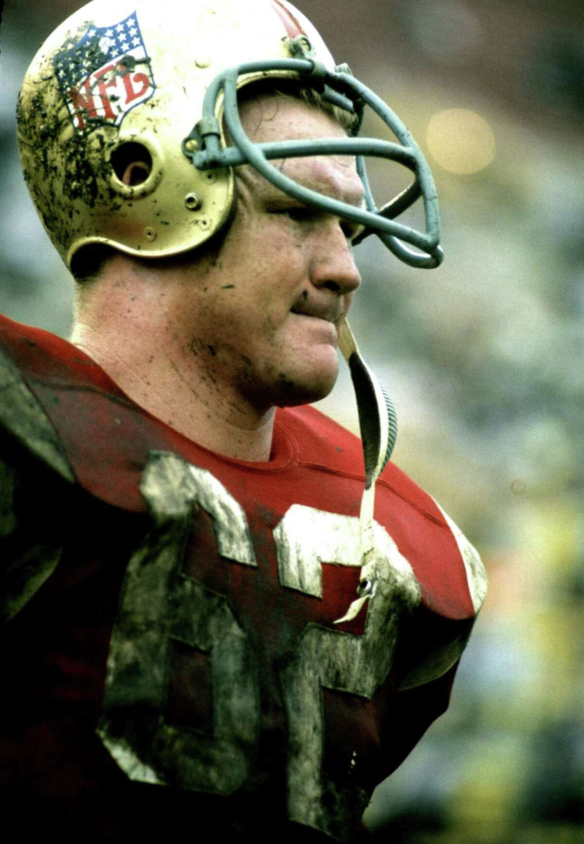 Atlanta Falcons linebacker Tommy Nobis during a 1967 Pro Bowl game where the East beat the West 20-10 on January 22, 1967 at the Los Angeles Memorial Coliseum in Los Angeles, California. 1967 NFL Pro Bowl East vs West - January 22, 1967 (AP Photo/NFL Photos)