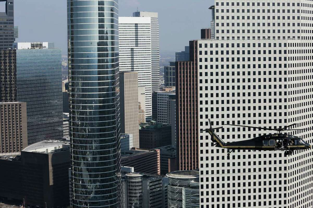 These high rises are changing the Houston skyline.