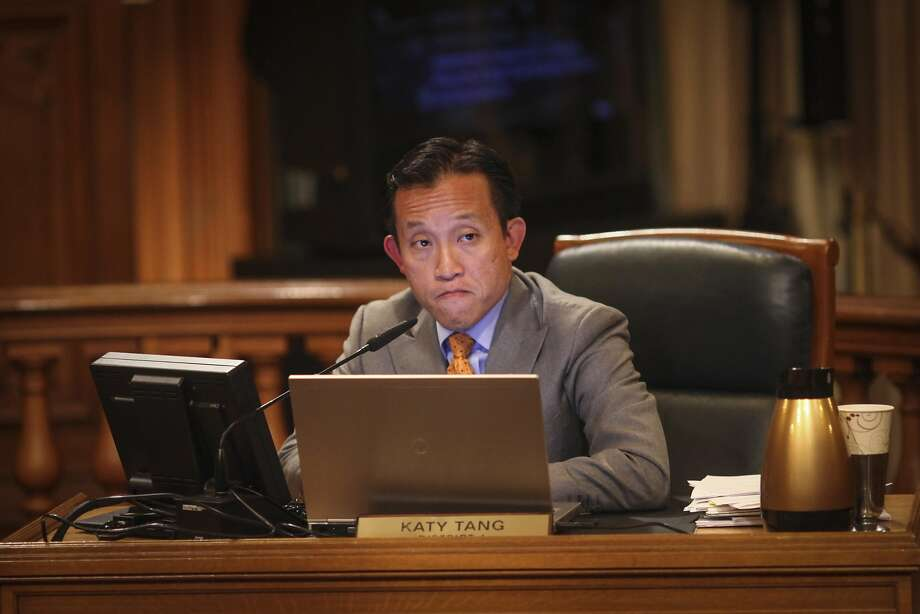 """David Chiu, who chairs the Assembly Housing and Community Development Committee, said he will announce legislation he plans to introduce that is intended to protect tenants from """"unscrupulous landlords."""" Photo: Sam Wolson, Special To The Chronicle"""